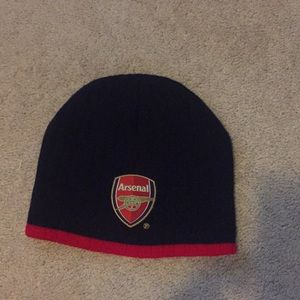 Other - Arsenal navy and red beanie hat